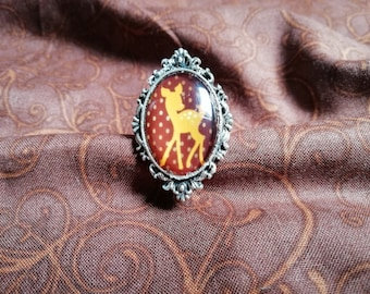 Ring oval Fawn