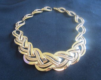 Vintage Napier Statement Link Necklace-FREE SHIPPING (US)