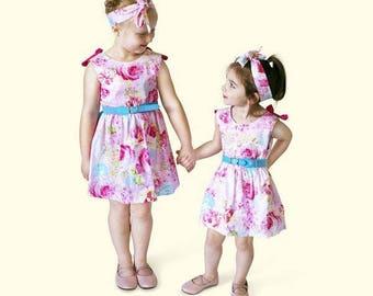 Pink Dahlia Dress