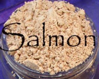 Salmon Vegan Concealer 10 Gram Jar apprx. 5 grams of powder