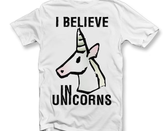Kids I Believe In Unicorns T-Shirt | Unicorns | Magical | Novelty Tee