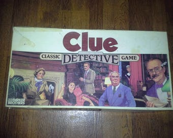 1986 complete clue board game