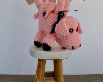 Pig bag 100% handmade