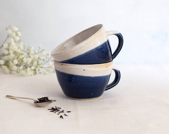 Dinky Cup - Midnight Blue // Tea Cup // Tea // Coffee Cup // For Her // For Him // Coffee // Housewarming gift // bridesmaid gift // mum