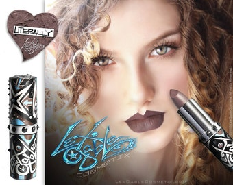 Brown Lipstick by Lex Gable Cosmetix High Pigment Shade: 'Literally'