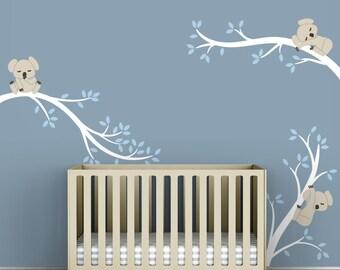 Baby Koala Decal by LittleLion Studio Koala Tree Branches