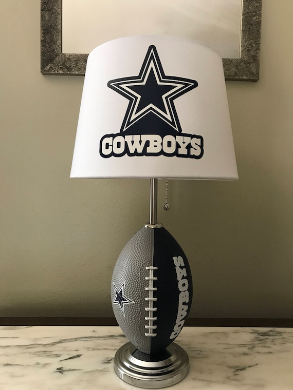 Dallas Cowboys Football Lamp.nfl Sports Team. Made By Thatlampguy