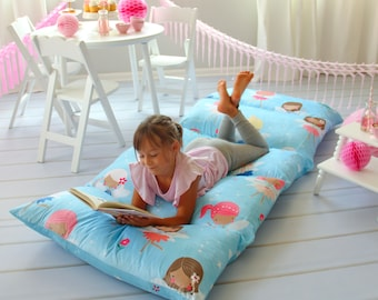 Super Soft Minky Pillow Bed Lounger Cover - Fairy