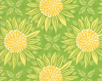 Moda GRAND CANAL Quilt Fabric 1/2 Yard By Kate Spain - Olive Girasole 27251 14