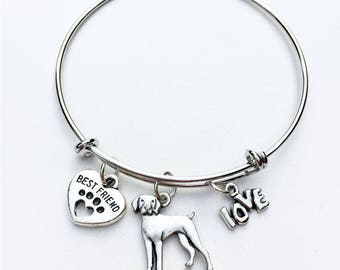 German Shorthaired  Pointer Best Friend Charm Bracelet