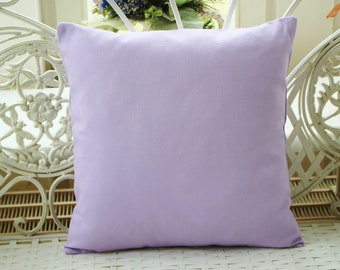 Pillow Cover Uni in lilac