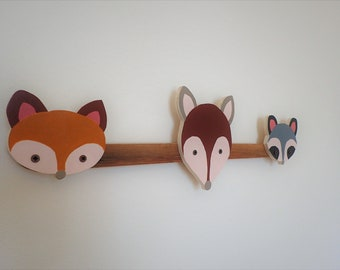 animals clothes hangers