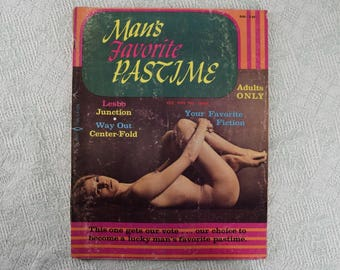 Man's Favorite Pastime Magazine from 1969