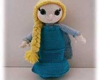 PDF tutorial of Elsa crochet