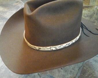 Python Snake Hat Band