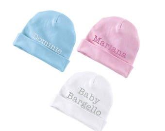 Custom Baby Hat  - Baby Cap - Custom Embroidered Infant Hat