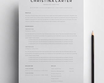 clean professional resume - Roho.4senses.co