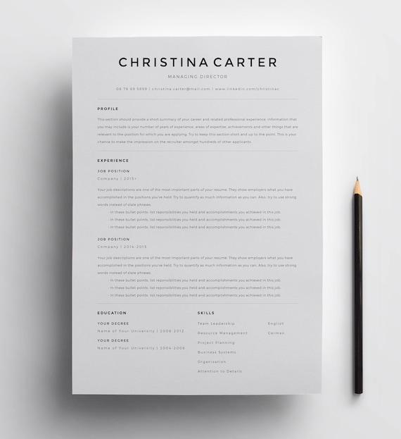 Resume Minimalist