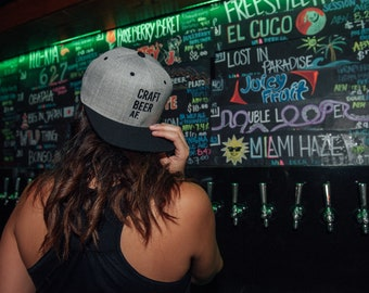 Craft Beer AF Snapbacks