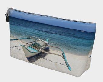 Tropical Beach Make Up Case