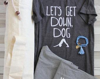 Yoga Gift Set - Yoga Outfit - Yoga Jewelry - Yoga Mat Bag - Yoga Bag - Yoga Shirt - Yoga Top - Yoga Bracelet - Yoga Pants - Yoga Leggings