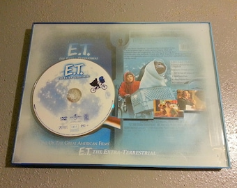 E.T. (1982 movie) custom (Extreme Frame) with removable DVD for viewing