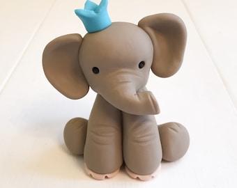 Clay Elephant   Etsy