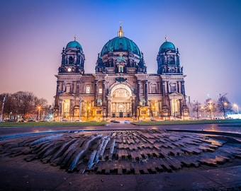 Berlin Dom cathedral, Germany - Digital fine art photography print
