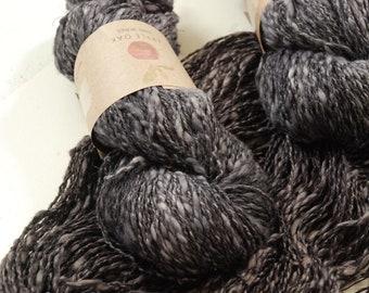 COTTON LINEN yarn~ LINCOT~ Blewit ~ summer yarn, quick knit, knitting yarn, crochet, weaving, texture, linen, flax, rustic, cotton