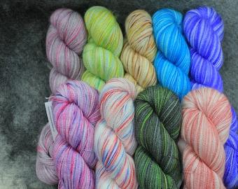 Baby Alpaca/Silk Lace Wt. Yarn (Lots 736 - 744), 800 yd, 4.3 oz
