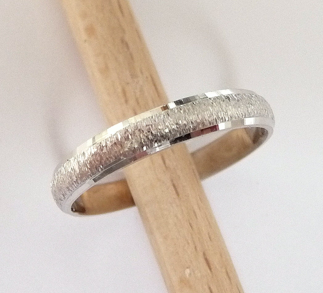 silver women ring for jewelry bands charm plated colors real plain band item aeproduct getsubject rings quality top color gold men wedding lovers
