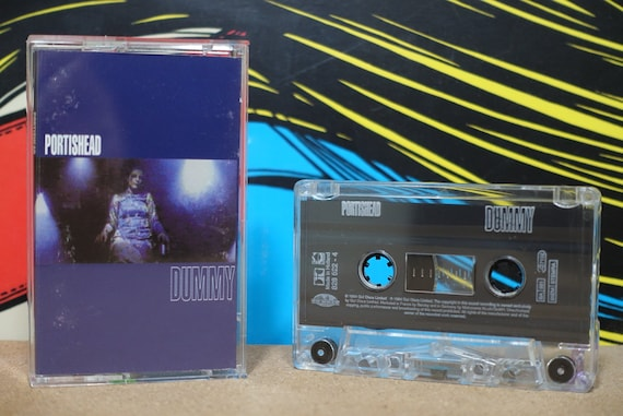 Dummy (Rare Dutch Pressing) by Portishead Vintage Cassette Tape