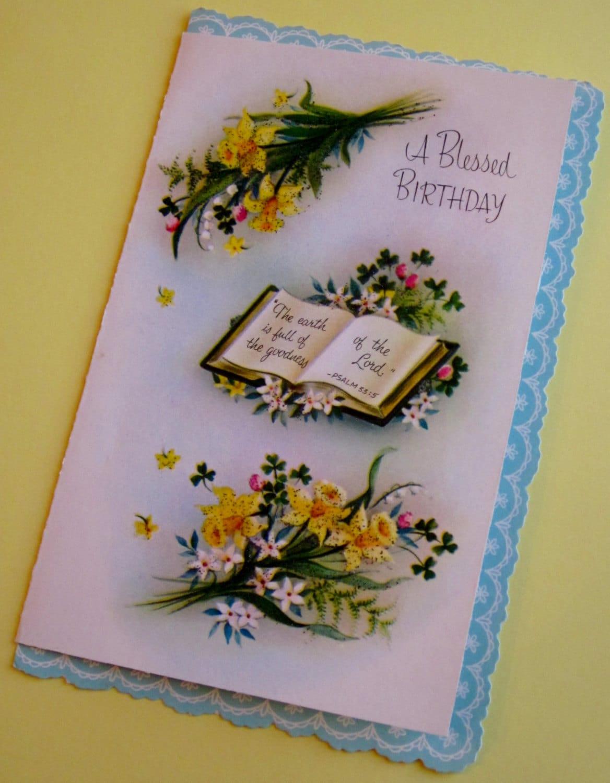 Preferenza Religiosi di cartolina d'auguri compleanno inutilizzati AB12
