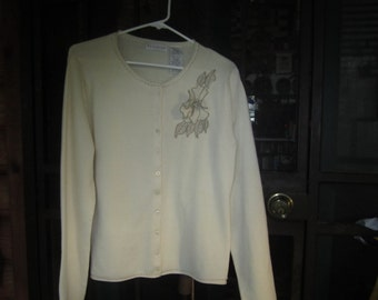 Womens Cardigan Sweater Size S
