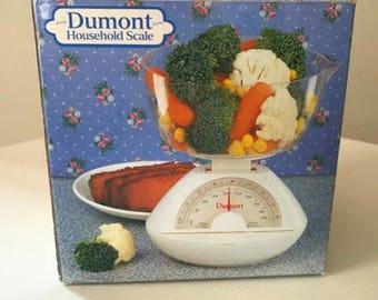 Vintage Dumont Household Scale Diet Original Box
