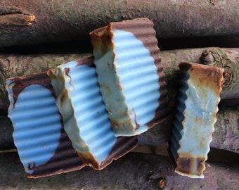 Working Hand Scrub Soap Handmade