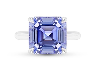 elongated cut item ring platinum certified gia estate sapphire buy emerald engagement rings asscher diamond ceylon