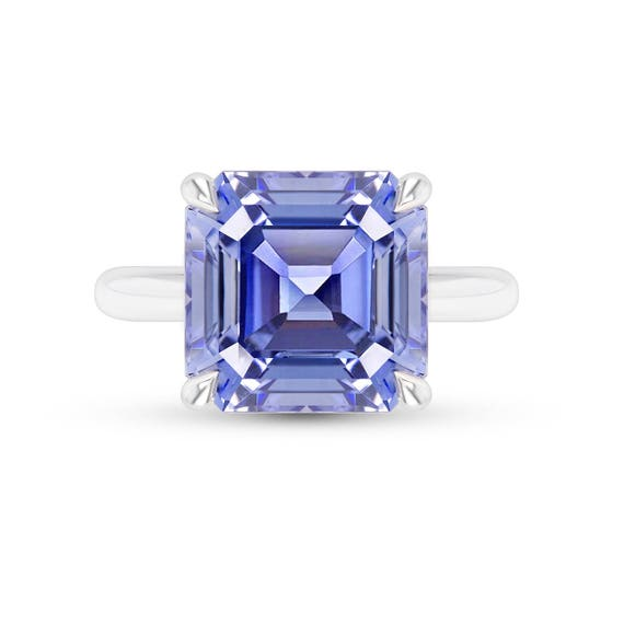 lovely sapphire cut steps ab pink loose jewelry asscher index faint