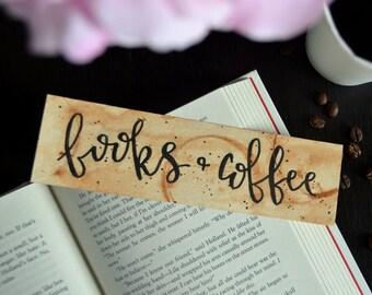 Books & Coffee/Tea Bookmark