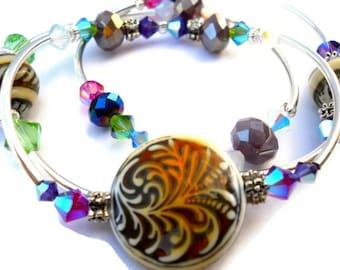 Mood Bangle Set, Mood bracelet, Mood Jewelry, Color Changing, Layered Bracelet, Bangles, Trendy Jewelry