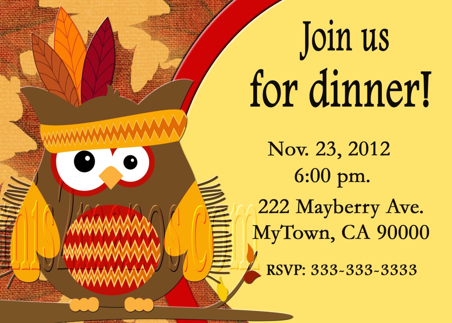 Free thanksgiving invitations fieldstation free thanksgiving invitations stopboris Gallery