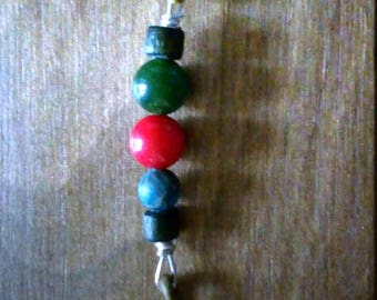 Leather gorgonian and Jade bracelet