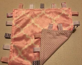 Light Pink Tag Blanket