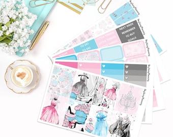 Fancy - Weekly Kit | Erin Condren Vertical Life Planner Stickers