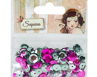 Santoro Willow Sequins - cards, mixed media, home decor - SNSQ001