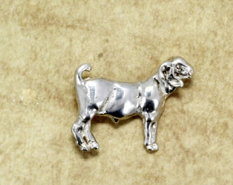 Goat Jewelry, Champion Boer Tie Tack or pin
