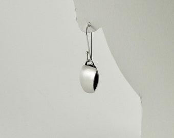 Sterling Silver Pillow Earrings - E2570