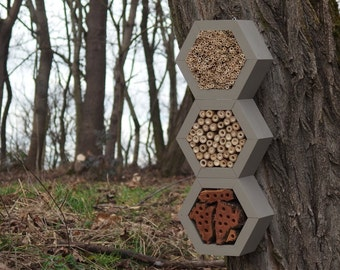 BEE HOTEL, Insect house, Mason bee home - Superiorhotel Mouse