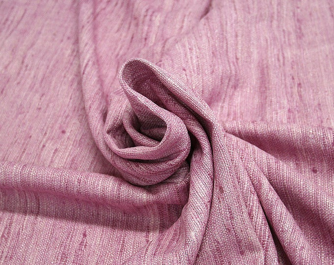 451131-natural Silk Rustic 100%, wide 135/140 cm, made in India, dry-washed, weight 360 gr