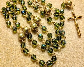 Spring Green Rosary